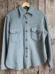 Vintage L.L. Bean Women's Wool Shirt/Jacket...Could we make a piece like this technical?
