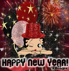 happy new year betty boops - Google Search