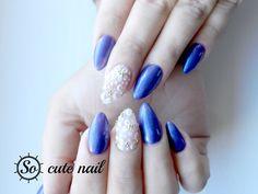 So-cute-nail: Stilleto purple et sa déco 3D