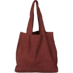Suede Shopper (1,595 MXN) ❤ liked on Polyvore featuring bags, handbags, tote bags, accessories, accessories - bags, purses, women, suede tote bag, purse tote and shopping tote bags