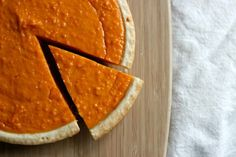 A delicious and somewhat healthy holiday treat! http://www.yorkavenueblog.com/2013/12/sweet-potato-pie.html | The Everygirl