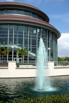 West Palm Palm Beach - Kravis Center    Another Pinner said:The Raymond F. Kravis Center for the Performing Arts, at 701 Okeechoee Boulevard in West Plam Beach, holds more than 800 events each year, with more than 400,000 people in attendance annually. One of the premier performing arts centers in the Southeast, this copper and marble showcase is the center for cultural events in West Palm Beach and only truly respectable concerts, plays, ballets and operas take place here.