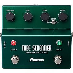 Get the guaranteed best price on Overdrive, Distortion, Fuzz & Boost Effects Pedals like the Ibanez Tube Screamer TS808DX Guitar Effects Pedal at Musicians Friend. Get a low price and free shipping on thousands of items.