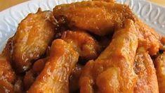Sweet Hot Mustard Chicken Wings