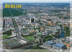 """The """"Aerial view of cities"""" thread seems to have disappeared for some reason :( so I hope it's okay if I make a new one. I guess I'll start us off. Aerial View, City Photo, Cities, Berlin, City"""