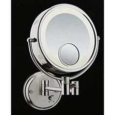 @Overstock - Get the angle you need with this wall-mount mirror from Conair. This double-sided mirror has a brushed nickel finish and adjustable light settings for the perfect look.http://www.overstock.com/Health-Beauty/Conair-Double-sided-1x-6x-8x-Spot-Wall-mount-Lighted-Mirror/4739918/product.html?CID=214117 CAD              82.43