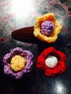 flowery hairpin