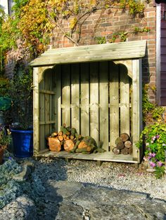 Here at Dorset Log Stores , our phone often rings, with people calling up with a quick question and we of course always take great delight . Firewood Shed, Firewood Storage, Garden Structures, Outdoor Structures, Log Shed, Bin Store, Outdoor Buildings, Wood Store, Reno