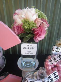 chanel party via #babyshowerideas #chanelparty