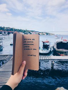 My DIY NoteBook - Benim Defterim   •İstanbul Diy Notebook, Bullet Journal Art, Istanbul, Cool Words, Literature, Motivational Quotes, Tote Bag, Travel, Instagram
