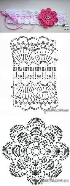 petelki.com.ua [] # # #Crochet #Borders, # #Crochet #Flowers, # #Crochet #Baby, # #Crochet #Projects, # #Crowns, # #Crochet, # #Tissue