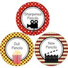 These fun movie theme pencil labels are great for adding to your pencil cans, buckets or caddies.  The labels measure 4 inches. Print onto cardstoc...