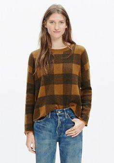 Inkcheck Plaid Sweater