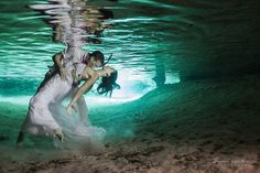 trash the dress underwater