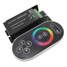CONTROLADOR TIRAS RGB CON MANDO 3 CANALES http://www.ledandcolors.com/driver-led/driver-led-rgb-3-canales-24.html CONTROLADOR TIRAS LED - RGB 3 canales
