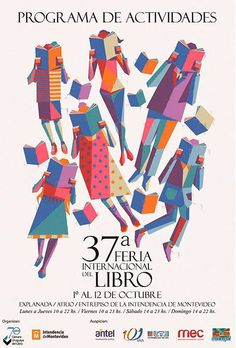 readers - poster for 37a Feria Internacional del Libro, Montevideo