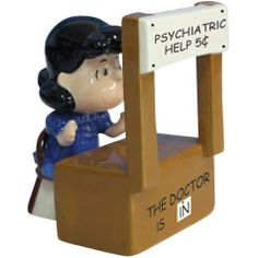 3.5 Inch Peanuts Lucy At Psychiatric Help Booth Salt And Pepper Shaker by WL. $22.99. This gorgeous 3.5 Inch Peanuts Lucy At Psychiatric Help Booth Salt And Pepper Shaker has the finest details and highest quality you will find anywhere! 3.5 Inch Peanuts Lucy At Psychiatric Help Booth Salt And Pepper Shaker is truly remarkable.3.5 Inch Peanuts Lucy At Psychiatric Help Booth Salt And Pepper Shaker Details:Condition: Brand NewItem SKU: SS-WL-18278Dimensions: H: 3.5 (Inches)Crafted...