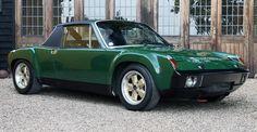 Porsche 914/6 GT...my parents had this EXACT car!! Same color even! :)