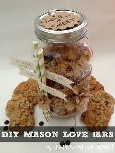 mason love jars, crafts, mason jars, A great gift for anyone and for any occasion