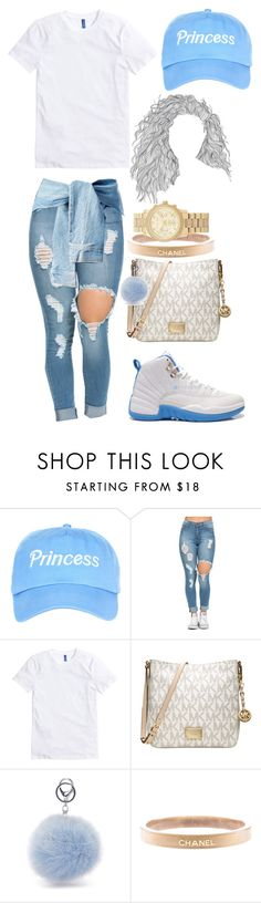 """""""Untitled #98"""" by amaiah14 ❤ liked on Polyvore featuring Retrò, Michael Kors and Chanel"""