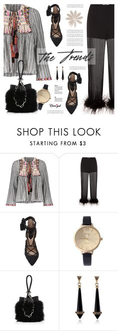 """The Trends // Rosegal"" by defivirda ❤ liked on Polyvore featuring Prada, Elie Saab and Alexander Wang"