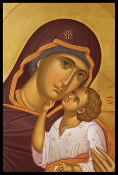Theotokos Panagia MADE TO ORDER Handpainted Eastern Orthodox Byzantine icon 22k | eBay
