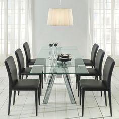 Mejores 27 imágenes de Diseños de mesas para comedores modernos en ...