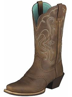"Ariat Boots 11"" Legend 10001053 Brown Womens"