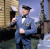 Mr. McFeely....Mr. Rogers mailman! (you know, that's a little creepy now that I think about it...)