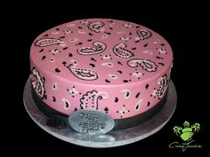 Pink Bandana Cake