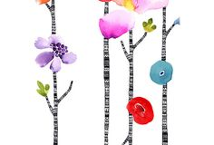 """Totem Blossom astek wallpaper $36 for 40.8"""" x 40"""" - this would be AMAZING  in the guest bath!"""