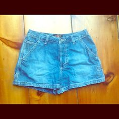 American Eagle Dungarees Jean Shorts Great Condition! American Eagle Outfitters Shorts Jean Shorts