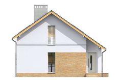 Zobacz powiększenie elewacji frontowej - projekt Stamford Stamford, Shed, Outdoor Structures, Cabin, House Styles, Home Decor, Decoration Home, Room Decor, Cabins
