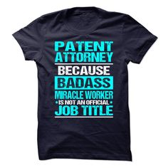 PATENT ATTORNEY T-Shirts, Hoodies. CHECK PRICE ==► https://www.sunfrog.com/No-Category/PATENT-ATTORNEY-89158806-Guys.html?id=41382