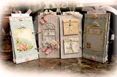 Reneabouquets's Gallery: Shabby Chic Mini Album **Scraps Of Elegance** September Kit~Simply Shabby Chic