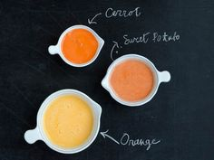 Rise and shine with this orange sweet potato #juice recipe