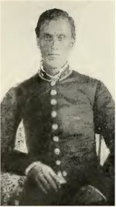 Captain Robert Cantrell, Company C, 23rd Tennessee Infantry.
