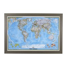 Canada or world magnetic pin travel map with 50 pins canada or classic world push pin travel map with barnwood gray frame and pins 24 x 36 gumiabroncs Choice Image
