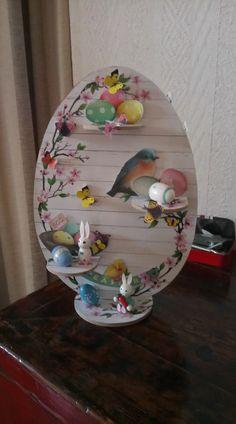 Easter Crafts, Decoupage, Decorative Plates, Christmas Decorations, Diy Crafts, Create, Tableware, Workshop, Home Decor