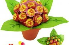 Chocolate Lollies, Chocolate Bouquet, Deco Orange, Theme Mickey, Cadeau Couple, Sweet Trees, Candy Cakes, Candy Bouquet, Unusual Gifts