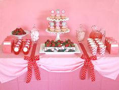 {Parties} Sweet Strawberry Party » Glorious Treats