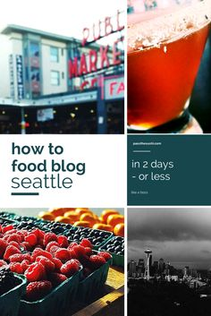 Seattle Food Tour - in 2 days or less | PasstheSushi.com