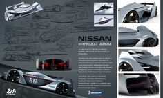 Nissan Project Aurora - Michelin Design Challenge 2017 on Behance