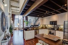 Wonderful Livework Conversion Loft In San Francisco With Vaulted  Great Pictures