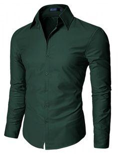 Doublju - Camisa Social Soft Fabric Brilhante (SA03) Compre roupas de qualidade, com design inovador e preço justo!