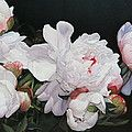 Red Roses by Thomas Darnell - Red Roses Painting - Red Roses Fine Art Prints and Posters for Sale