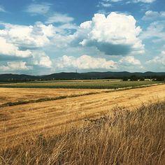#sky #clouds #landscape Blick auf den Odenwald