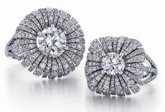 Frederic Sage Blossom rings