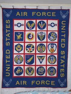 Air Force Quilt