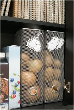 Amazing Interior Design 10 Amazing DIY Produce Storage Ideas for Your Kitchen